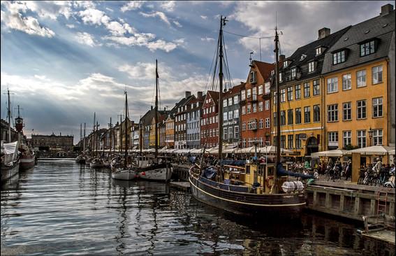 WATER'S EDGE VESTERBRO COPENHAGEN by Graham Bunyan