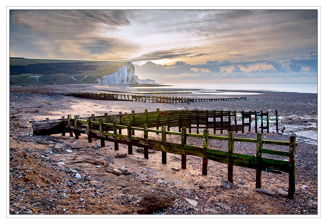 18 DAWN RISING AT CUCKMERE HAVEN by Mike Shave