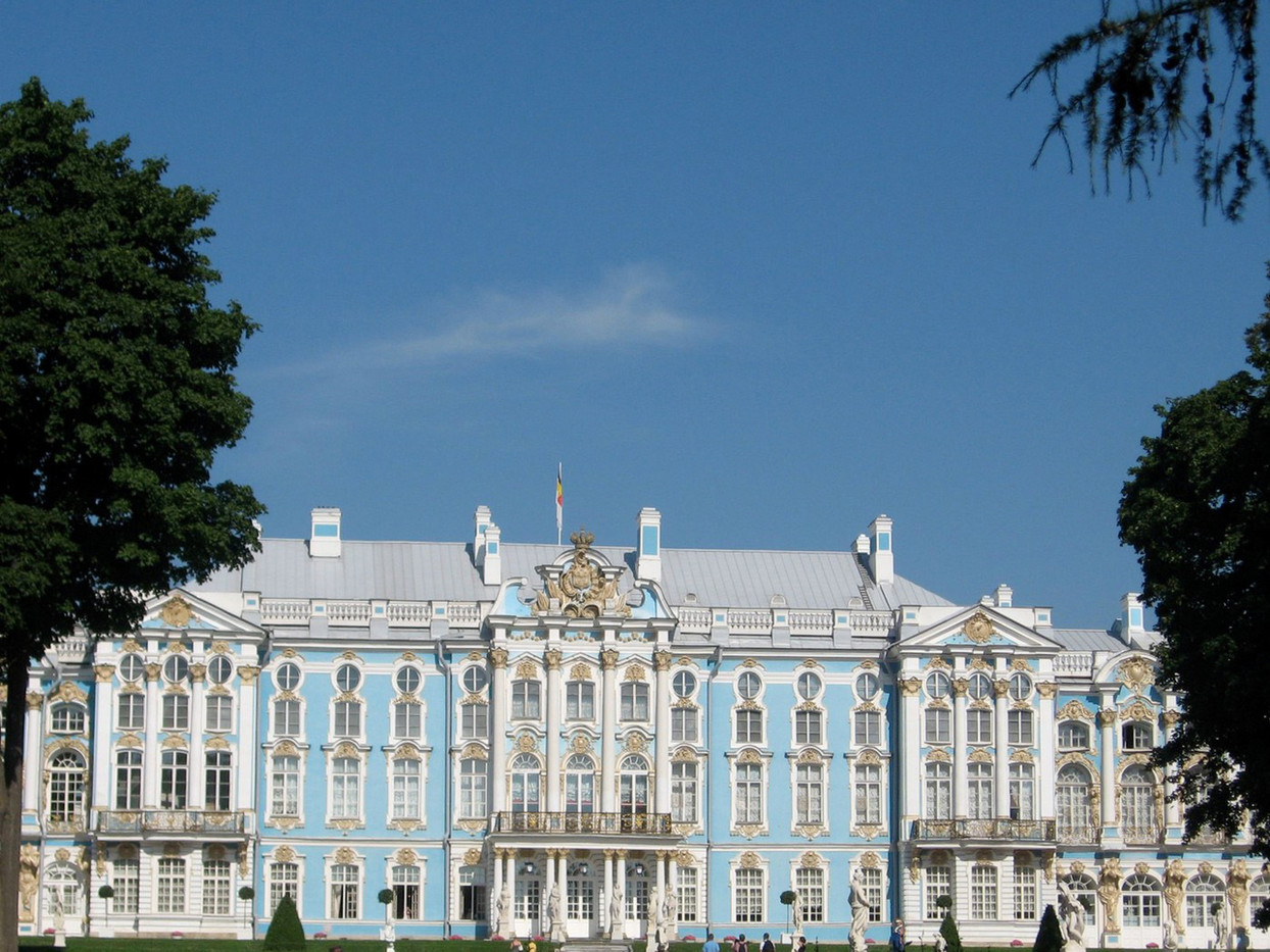 12 ST CATHERINE'S PALACE ST PETERSBURG by Colin Bullen