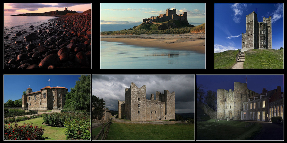 17 ENGLISH CASTLES by Philip Smithies