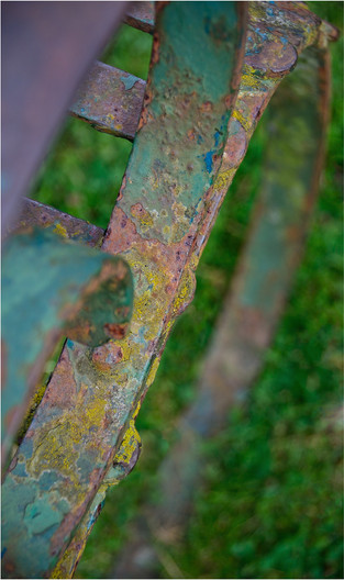15 AMAZING COLOURS OF A SALISBURY BENCH by Annik Pauwels