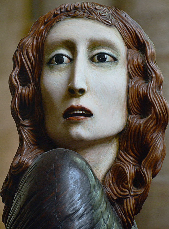 20 SCULPTURE IN SALISBURY CATHEDRAL (Best PDI) by Joan Gow