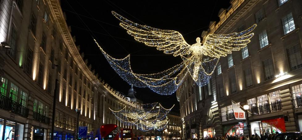 16 REGENT STREET CHRISTMAS LIGHTS by Ron Gaisford