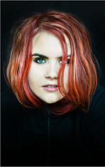 20 GIRL WITH THE RED HAIR by Annik Pauwels