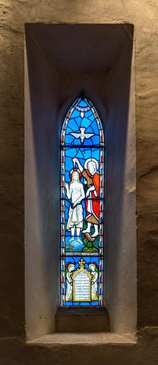 14 MEMORIAL WINDOW - HOLY TRINITY CHURCH - BRADFORD ON AVON by Tony Hill
