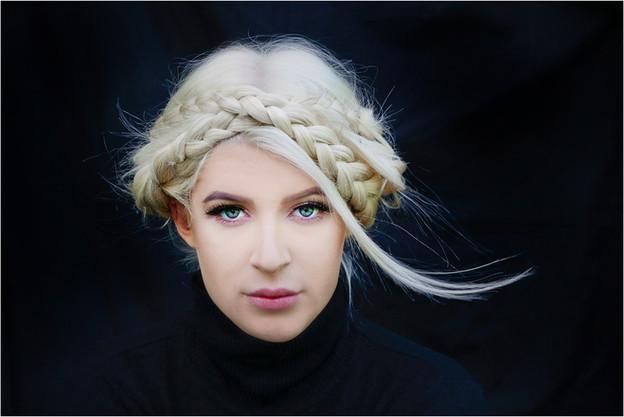 THE LOCK OF HAIR by Annik Pauwels