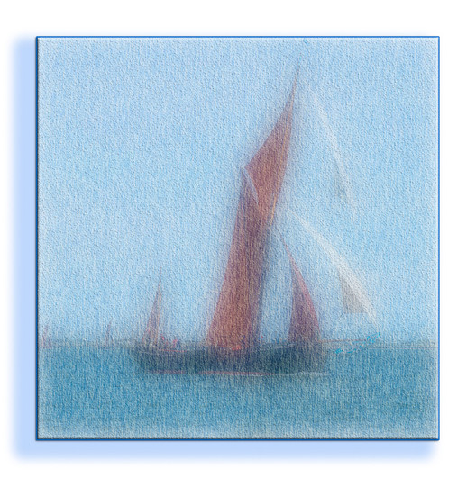 16 THAMES BARGE by Steve Oakes
