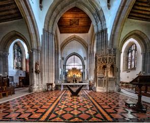 16 ST NICHOLAS CHURCH, ARUNDEL by Denys Clarke