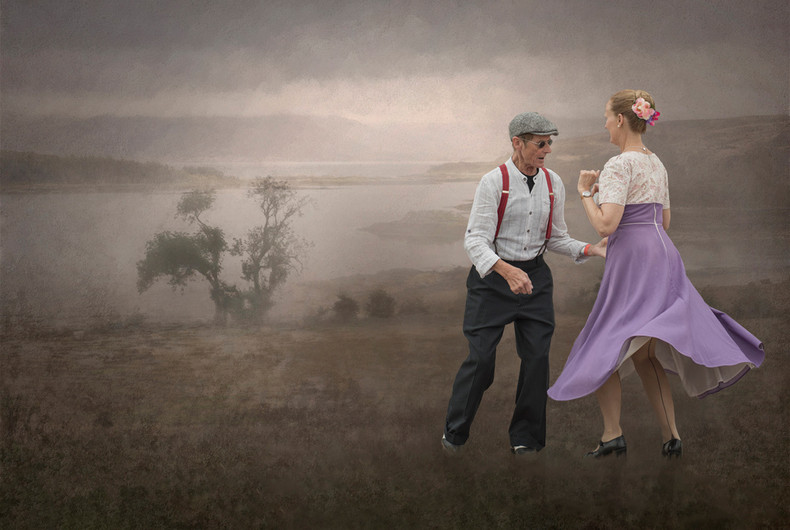 20 DANCING IN THE LANDSCAPE by Ann Paine