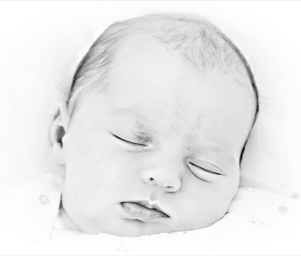 17 SLEEPING CHILD by Cathie Agates