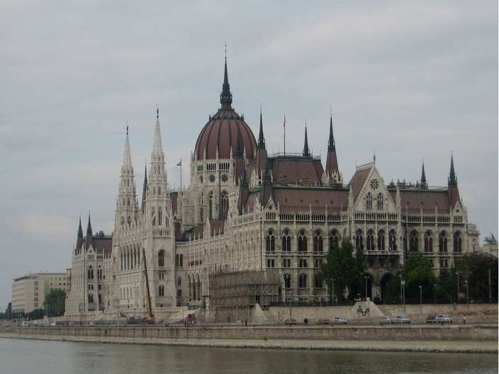 13 PARLIAMENT BUILDINGS BUDAPEST by Colin Bullen