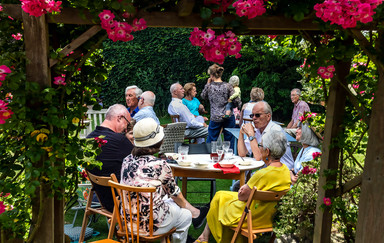 17 GARDEN PARTY by Denys Clarke