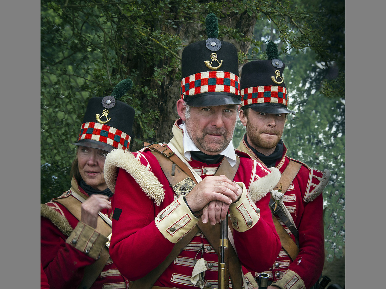 16 ENGLAND'S FINEST WATERLOO 2015 by Denys Clarke
