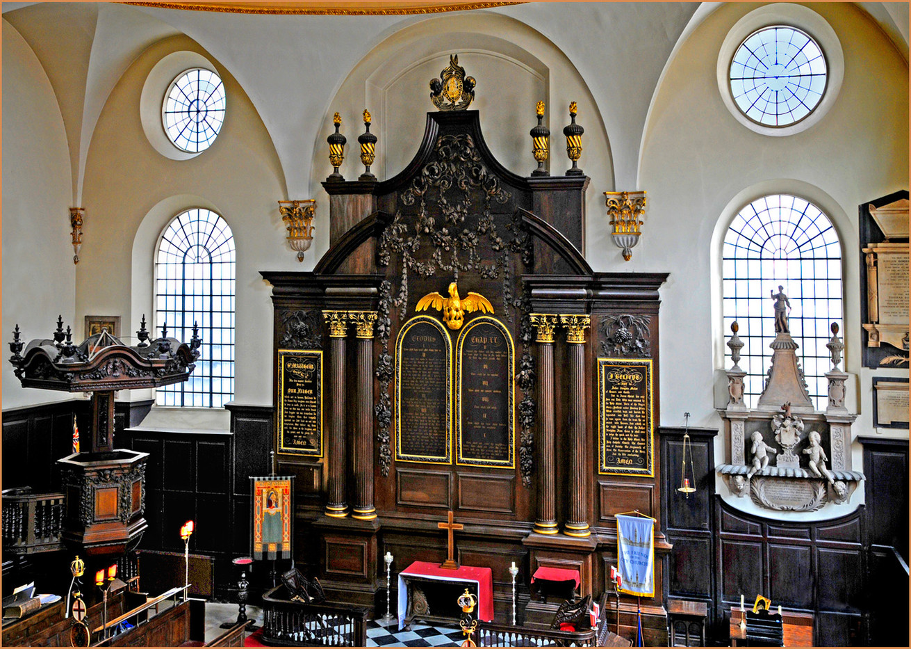 18 ST MARY ABCHURCH, LONDON by Keith Evans