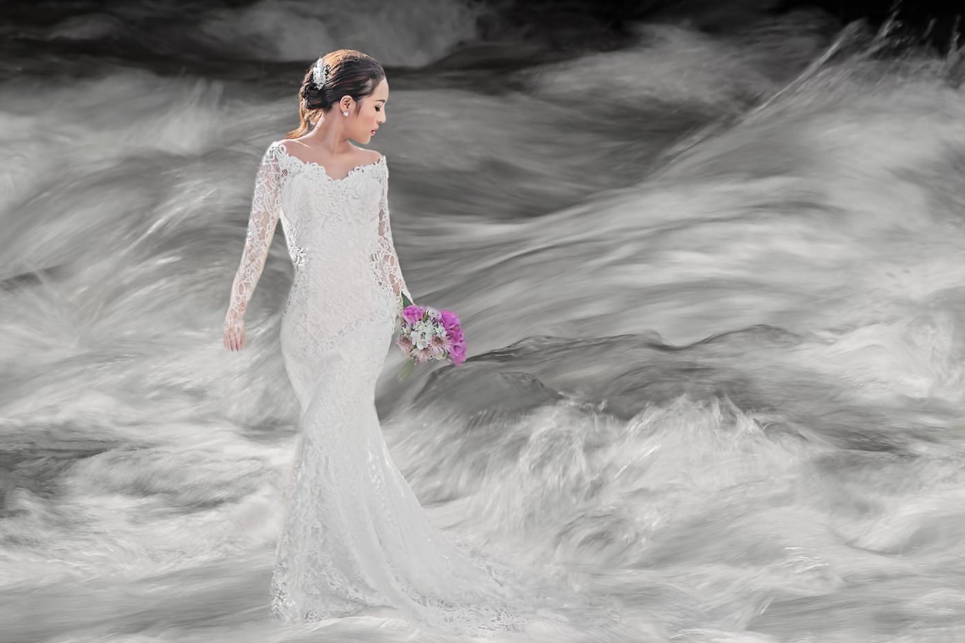 17 STORMY WATERS by Pam Sherren