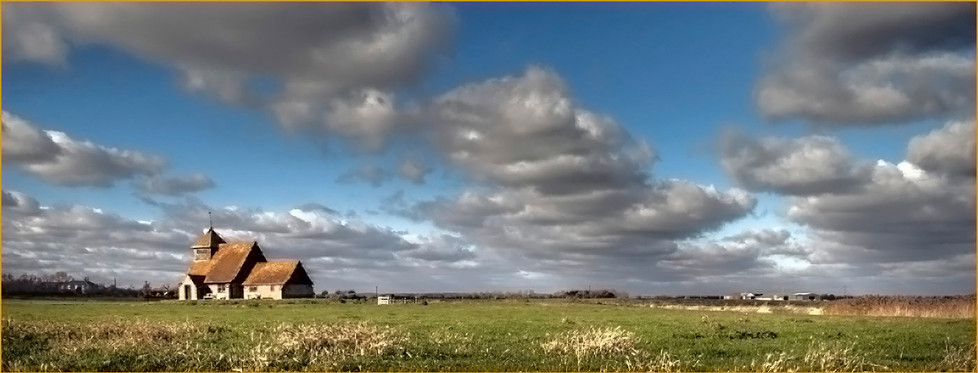 GROUP 2 18 BIG SKY AT ST THOMAS ROMNEY MARSH by Mike Shave
