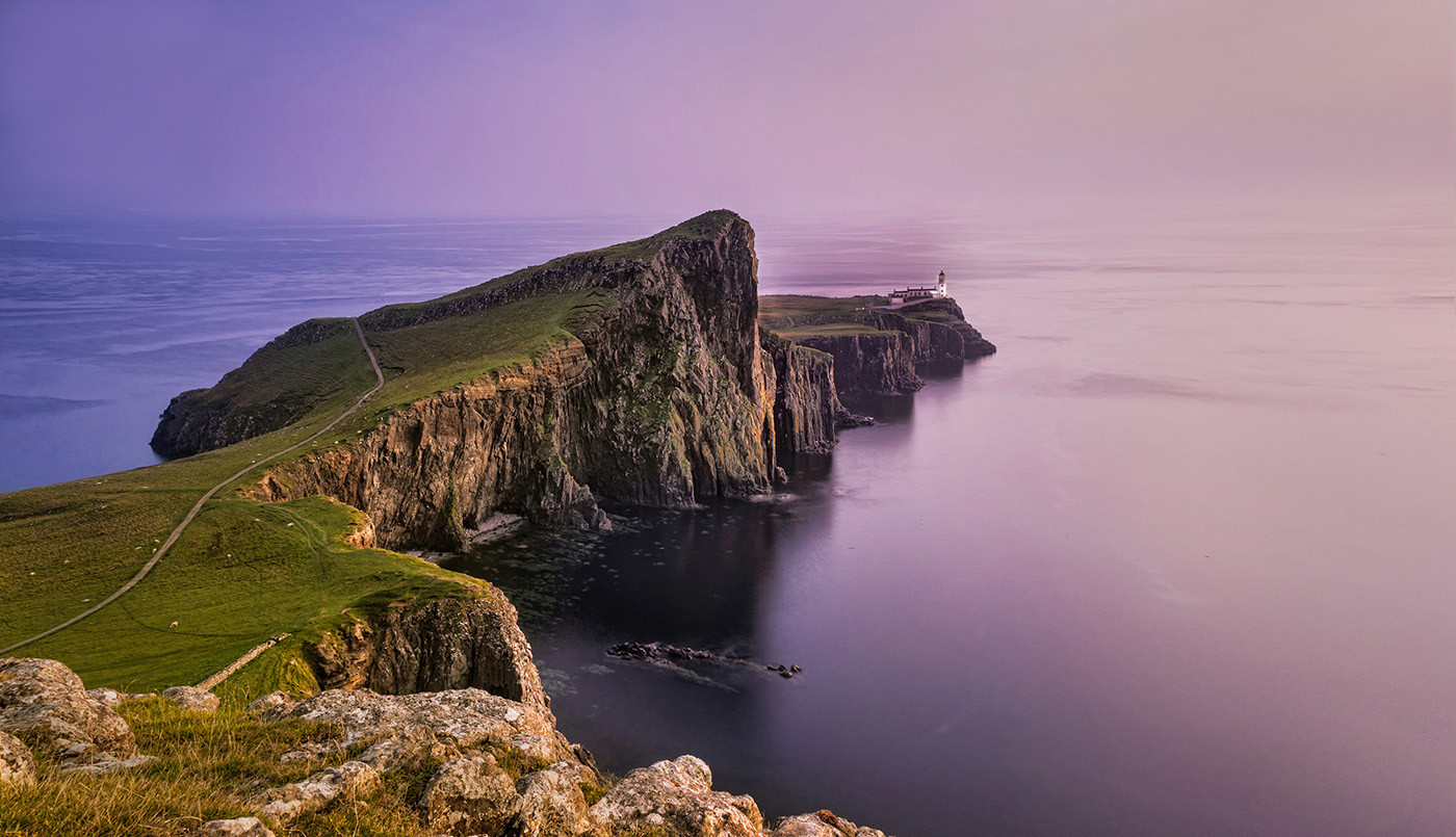 GROUP 1 17 BEAUTIFUL EVENING AT NEIST POINT by Ann Paine