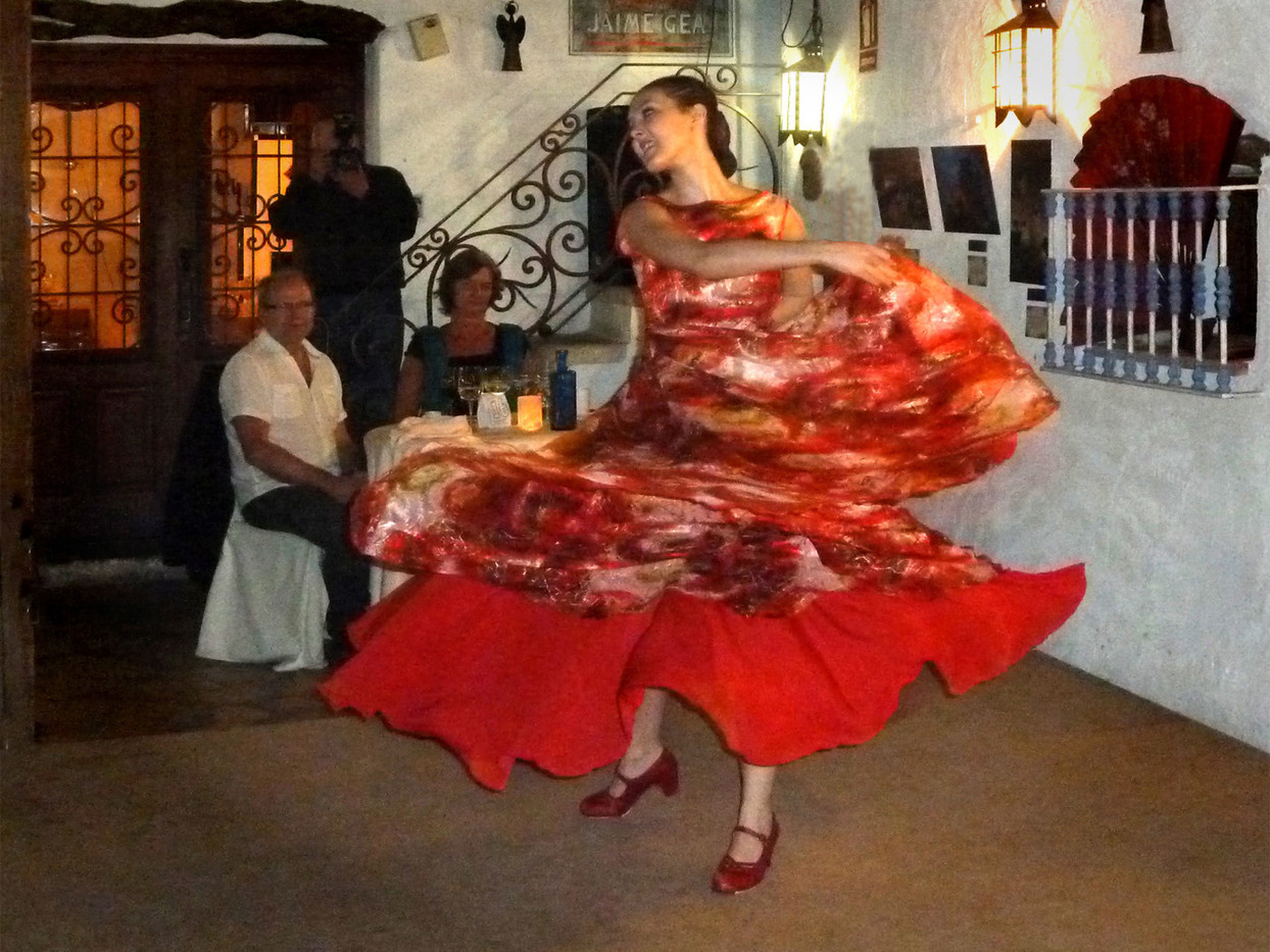 GROUP 1 14 FLAMENCO DANCER by Brian Whiston