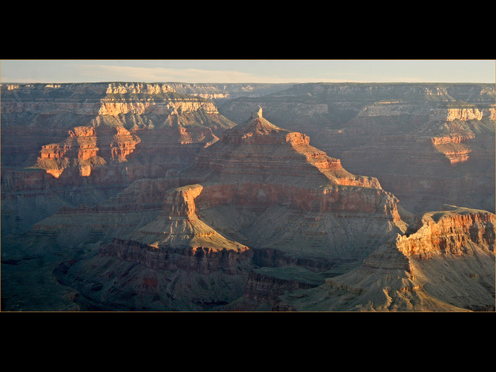 17 SUNRISE OVER GRAND CANYON by Cathie Agates