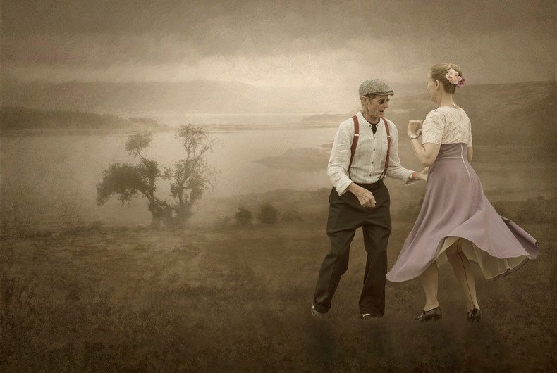 15 DANCING IN THE LANDSCAPE by Ann Paine