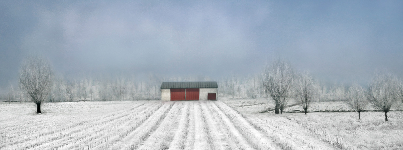 GROUP 1 20 FARM IN WINTER by Pam Sherren