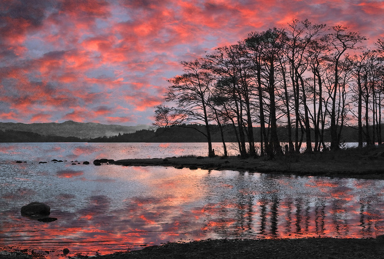 16 A SCOTTISH SUNSET by Peter Tulloch