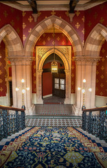 17 THE GRAND STAIRCASE OF ST PANCRAS HOTEL by Philip Easom