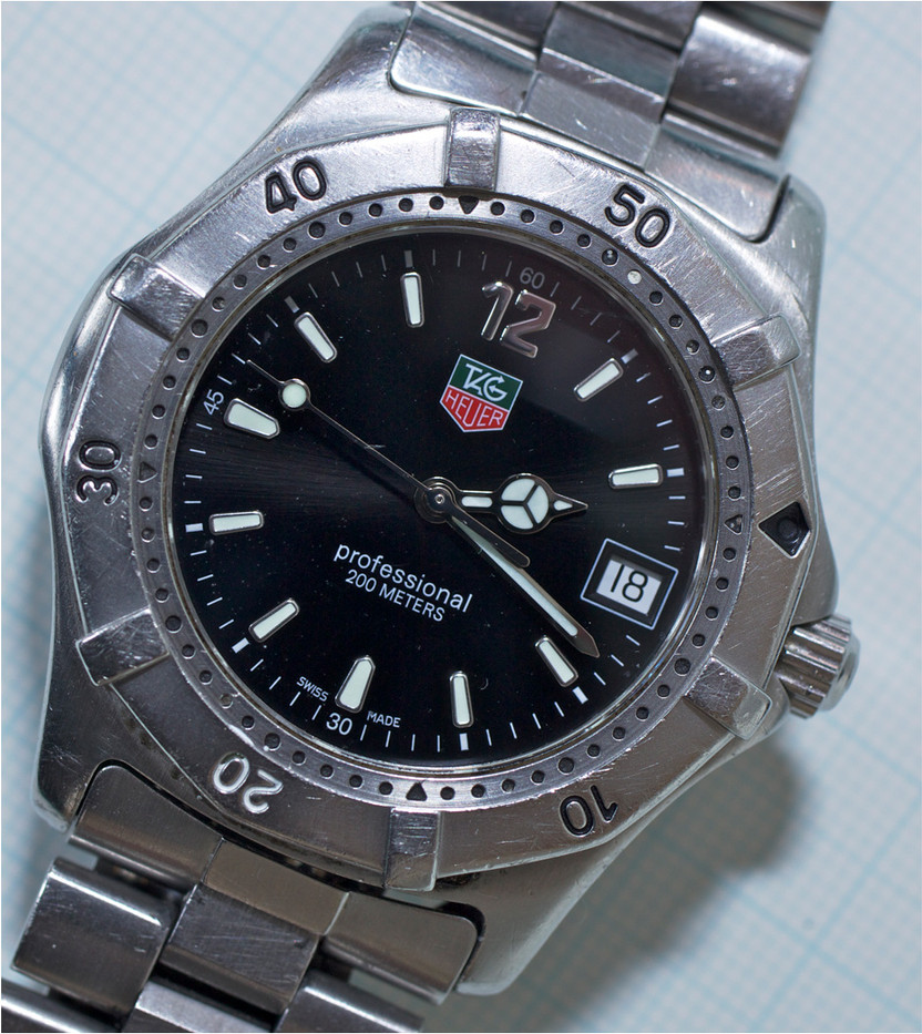 17 TAG HEUER WRISTWATCH by Dave Brooker