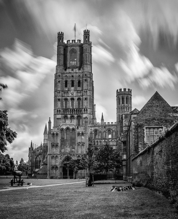 14 ELY CATHEDRAL by Tony Hill