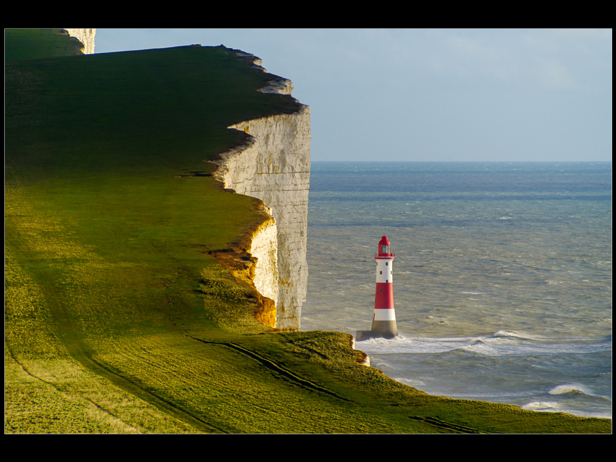 17 BEACHY HEAD LIGHTHOUSE by Peter Tabor