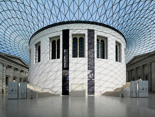 BRITISH MUSEUM GREAT COURT by Philip Smithies