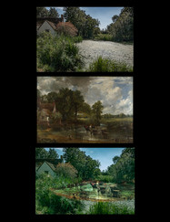 16 CONSTABLE HAYWAIN MONTAGE by Terry Day