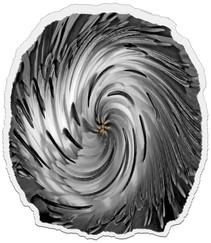 18 (PRINT) FLOWERTWIST by Dave Brooker