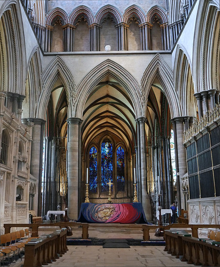 20 SALISBURY CATHEDRAL (Second-best PDI) by Joan Gow