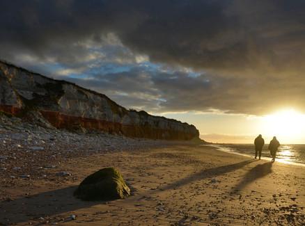 HUNSTANTON SUNSET by Alan Cork