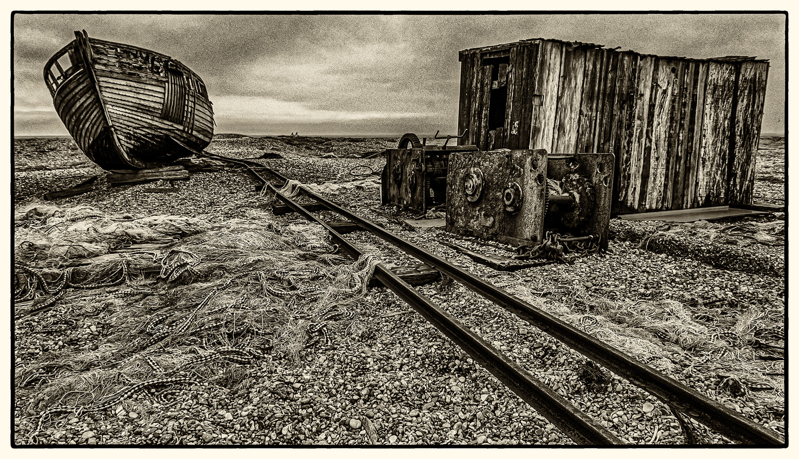 18 DESOLATE DUNGENESS by Mick Dudley