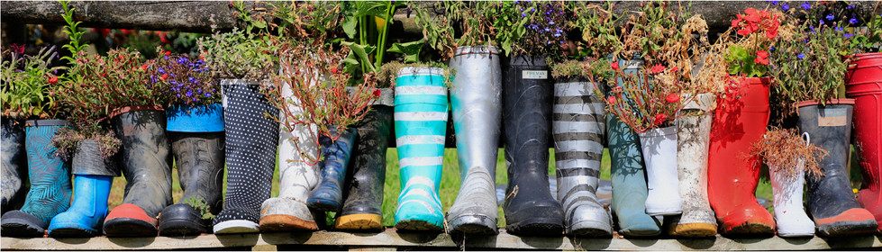 BOOT RACK by Dave Brooker