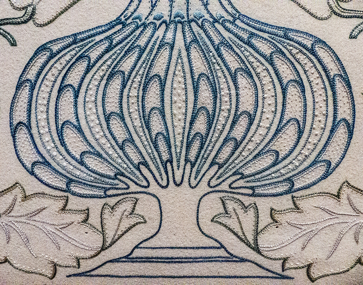 15 DETAIL EMBROIDERY BY WILLIAM MORRIS by Jenny Clarke