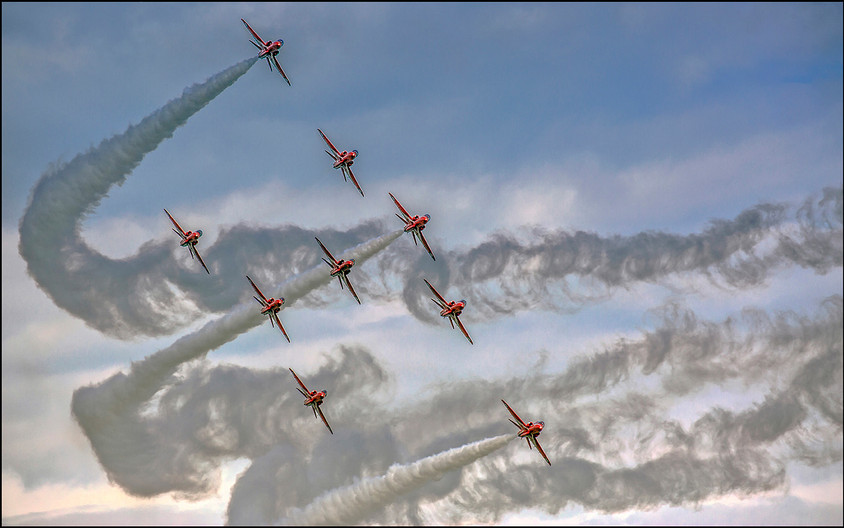 19 PERFECT FORMATION by Graham Bunyan