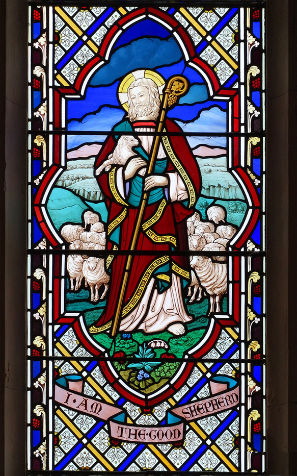 17 WINDOW DETAIL, ST JAMES CHURCH SOUTH REPPS, NORFOLK by Brian Whiston
