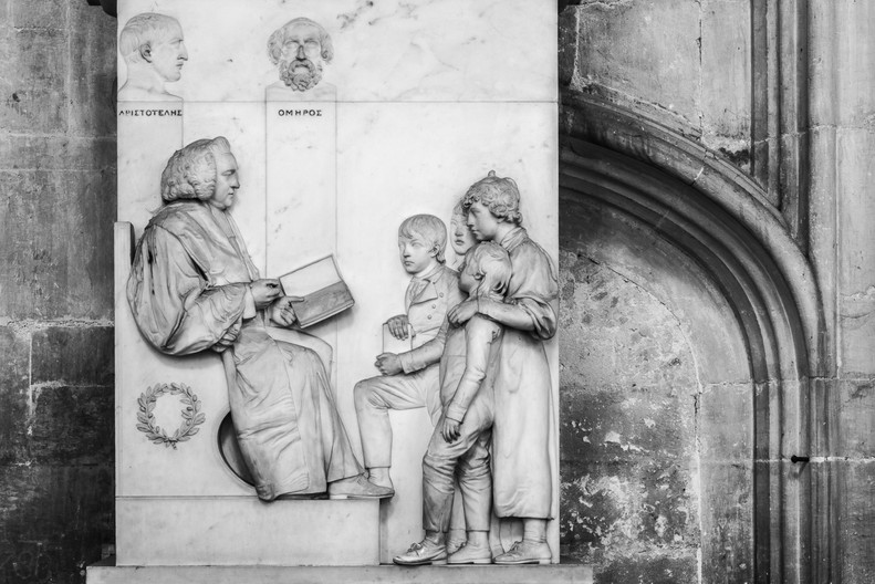 17 TOMB OF JOSEPH WORTON, WINCHESTER CATHEDRAL by Chelin Miller