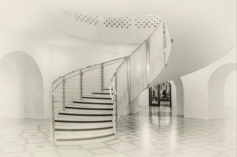 17 EMPTY STAIRS  by Pam Sherren