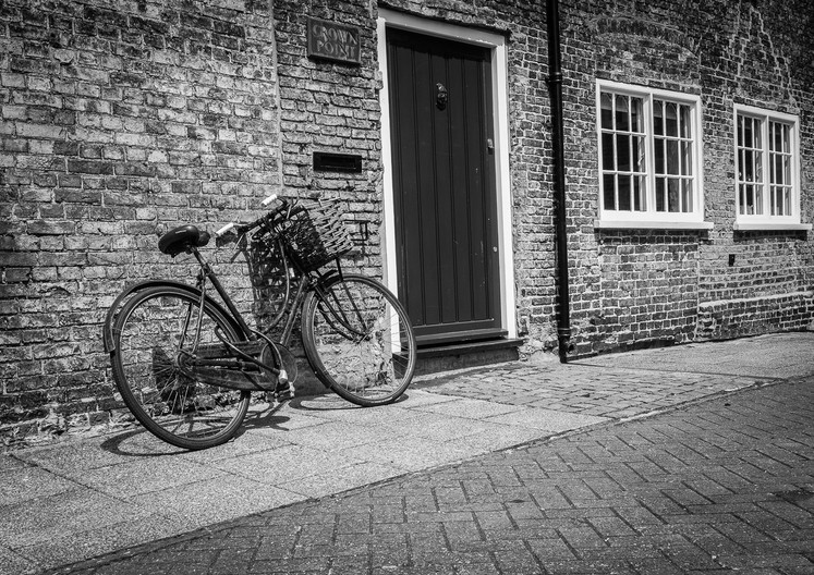 16 OLD BIKE IN ELY by Terry Day
