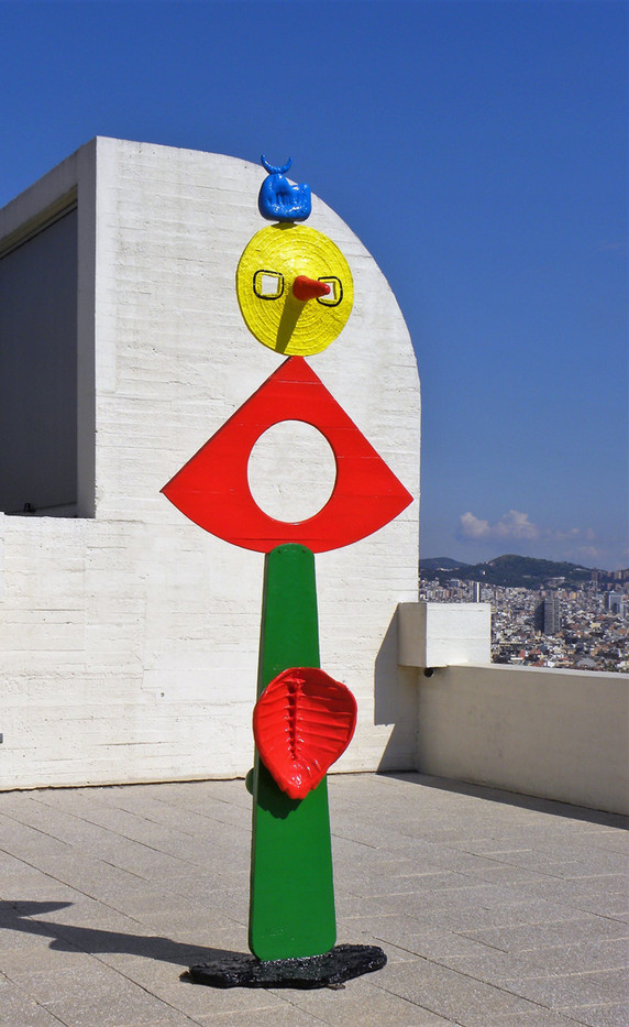 16 ART ON THE ROOF by Maureen Heywood