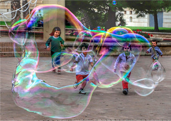 16 CHASING BUBBLES IN VALENCIA by Dave Brooker