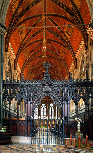 13 ST JOHN'S COLLEGE  CHAPEL CAMBRIDGE  by Denys Clarke