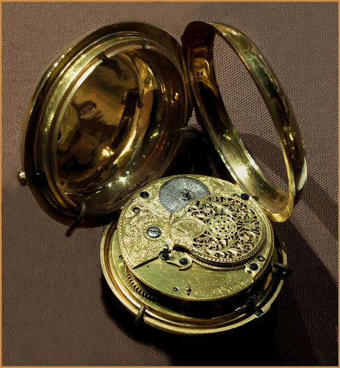 17 POCKET WATCH, JOHN ARNOLD, 1776 by Keith Evans