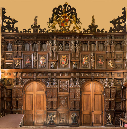 16 THE GREAT SCREEN AT KNOLE by Richard Gandon