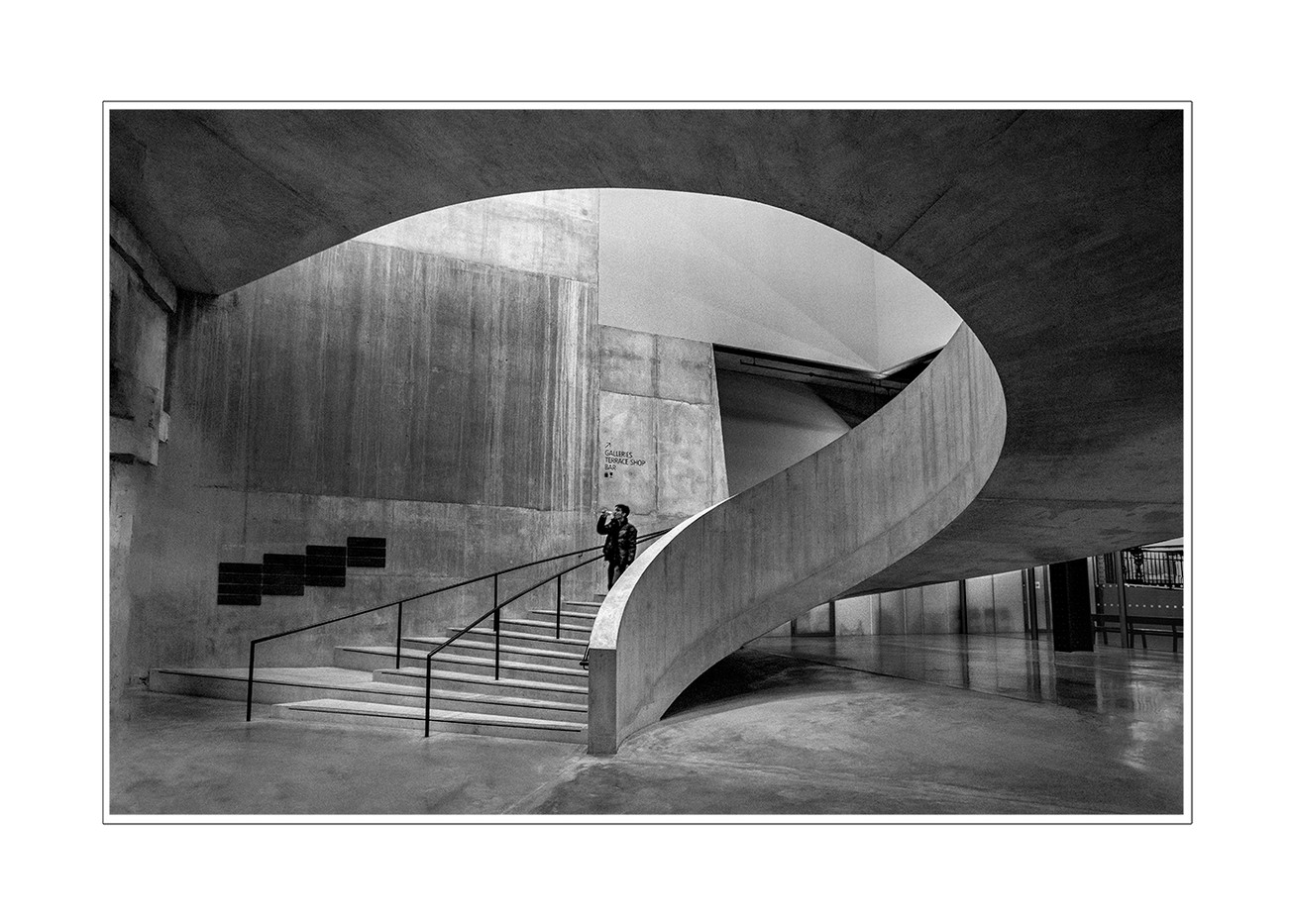 18 DOWN WHERE THE TATE SHOWS ITS ORIGINS by Philip Easom