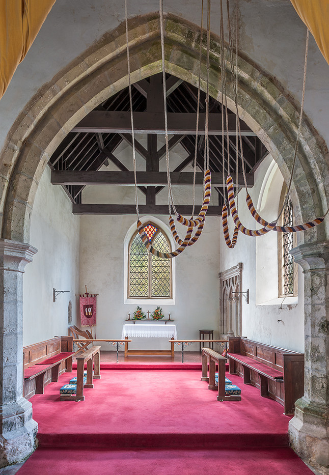 16 THE CHANCEL ST BARTHOLOMEW'S CHURCH WALTHAM KENT by Chris Rigby